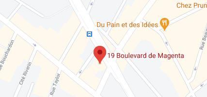 Paris 75010 - 19, boulevard de Magenta